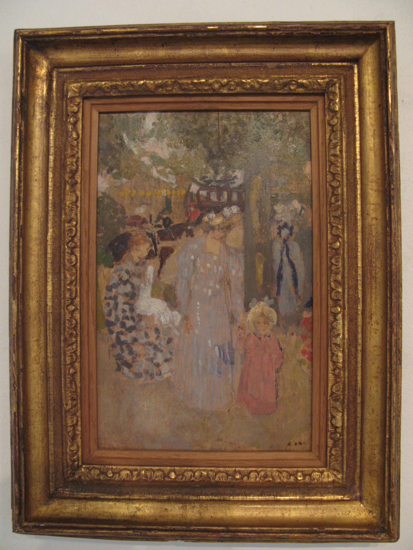 Ker xavier roussel 1867 1944 le nabi bucolique le for Au jardin des malentendus